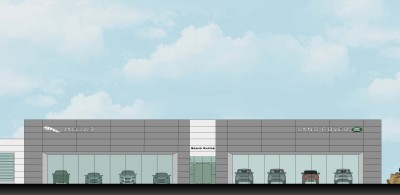 Sharpe Collection Expansion- Jaguar and Land Rover, Grand Rapids, Michigan